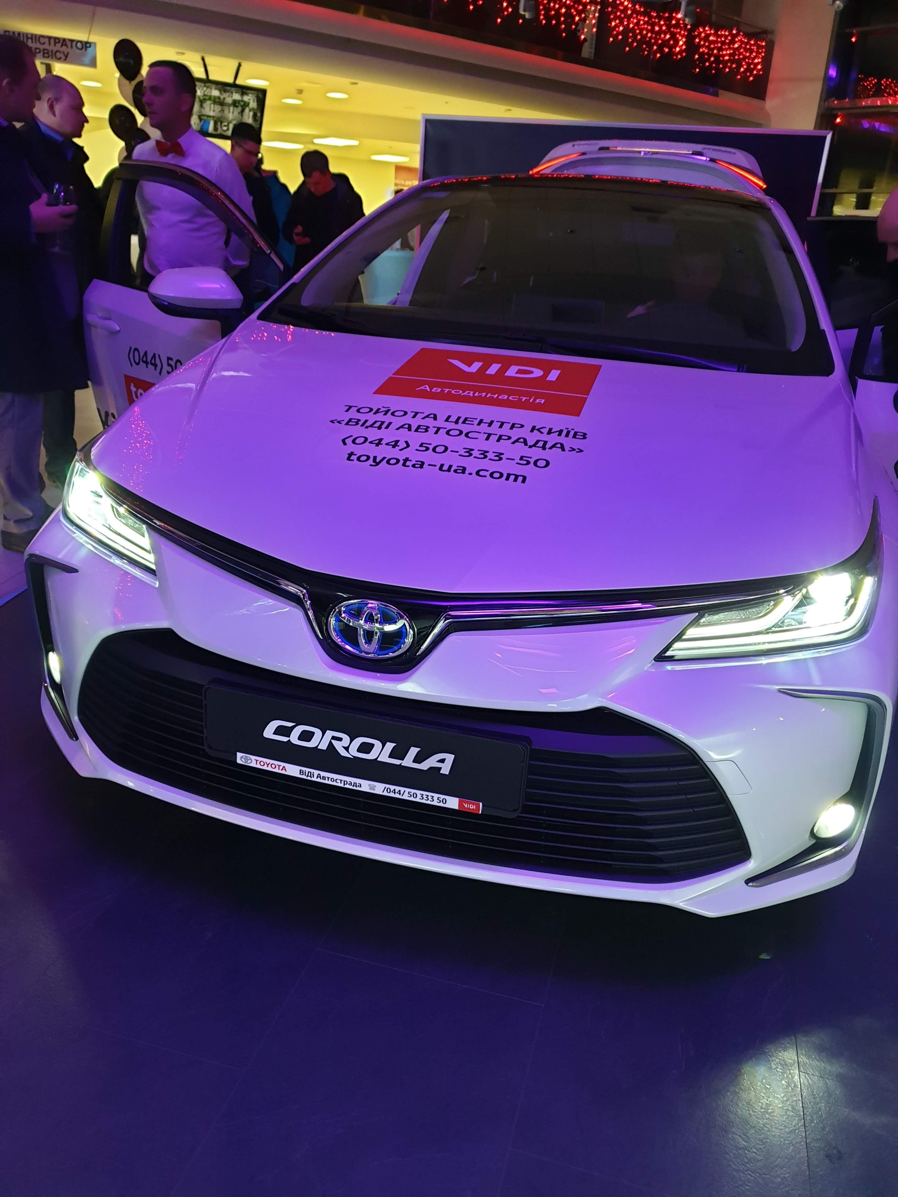 Новая Toyota Corolla 2019 1.8 Hybrid. Обзор и тест-драйв